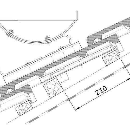 Technische tekening HEIDELBERG FUK PROFILIERTE-BDS
