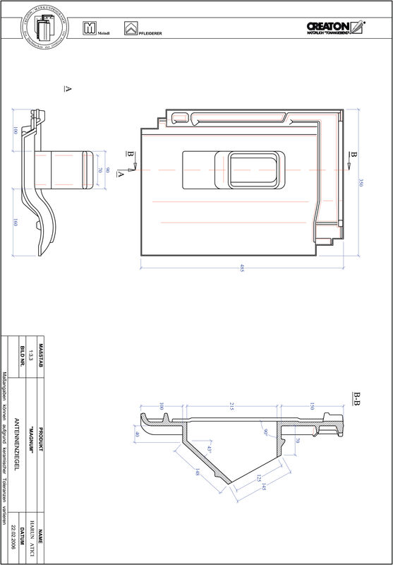 Product CAD file MAGNUM Aerial ANTENNE