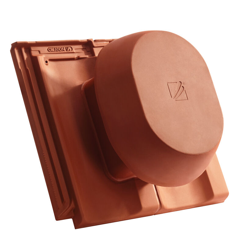 OPT SIGNUM ceramic vapour vent DN 200 mm, incl. sub-roof connection adapter