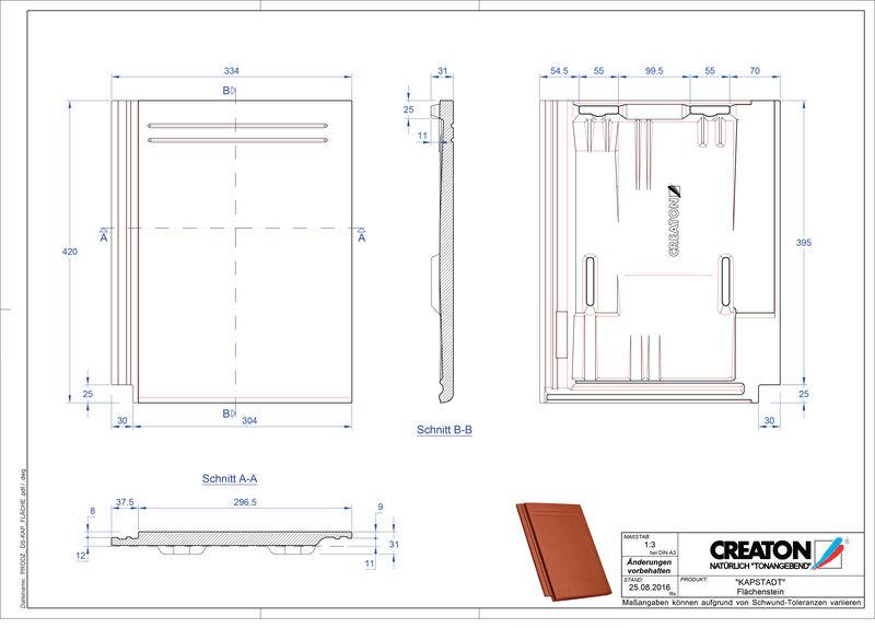 Product CAD file KAPSTADT pan Faechenstein
