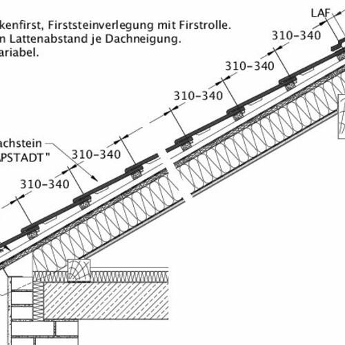 Technische tekening  KAPSTADT DQF LUEFT-EBENE-BDS