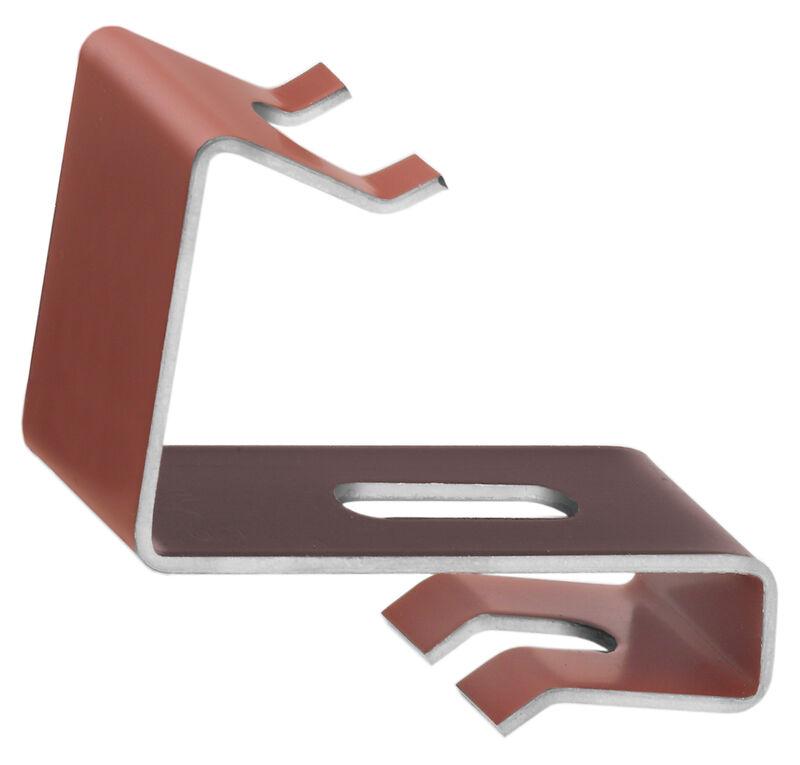 Ridge clip aluminium PV