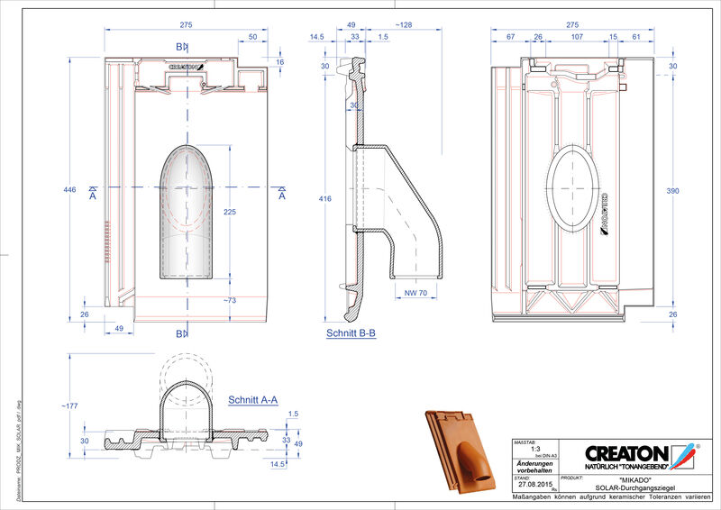 Product CAD file MIKADO Solar SOLAR