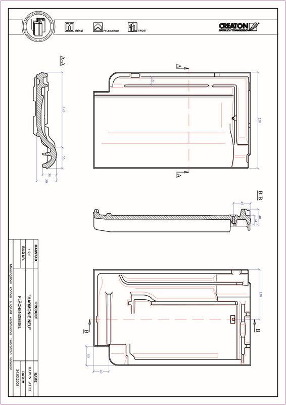 Product CAD file HARMONIE pan FLA