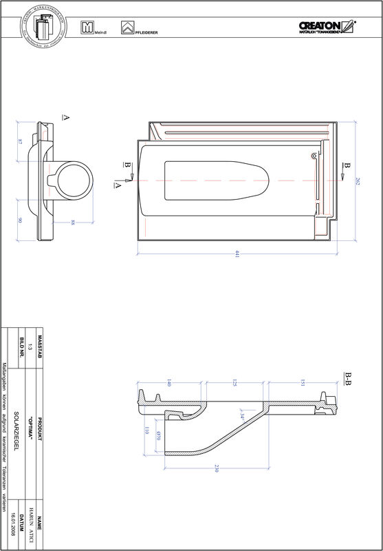 Product CAD file TERRA OPTIMA Solar SOLAR