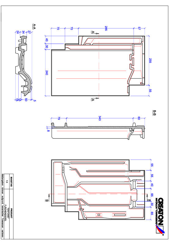 Product CAD file SINFONIE pan FLA