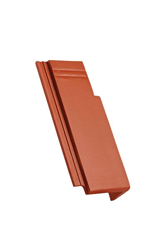 KAP concrete half-width verge tile right 120 mm notch