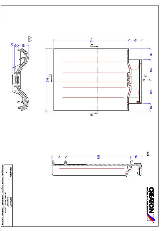 Product CAD file SINFONIE dubbele welpan DWZ