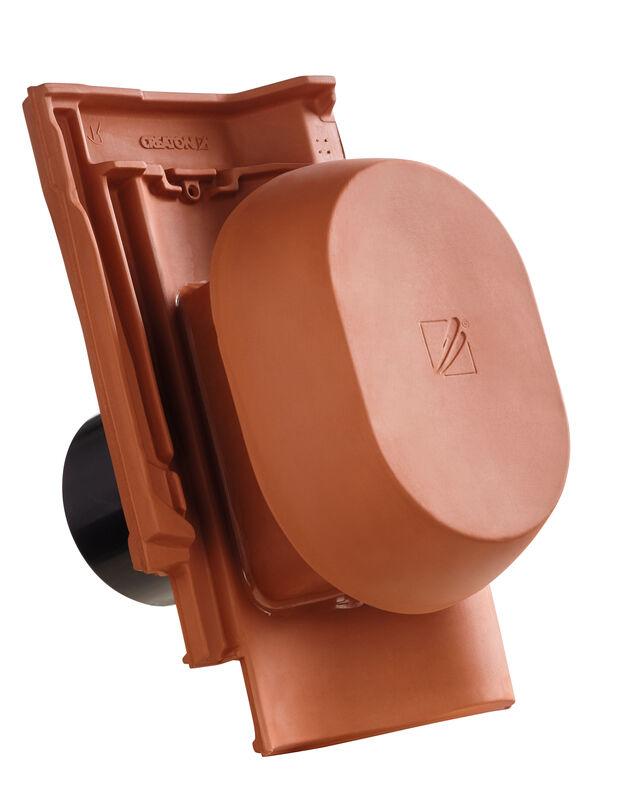 SINSIGNUM keramische ventilatie opening DN 150/160 mm incl. Verbindingsstuk