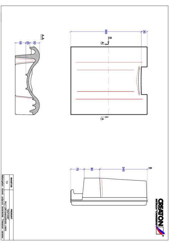 Product CAD file SINFONIE shedgevelpan links PULTOGL