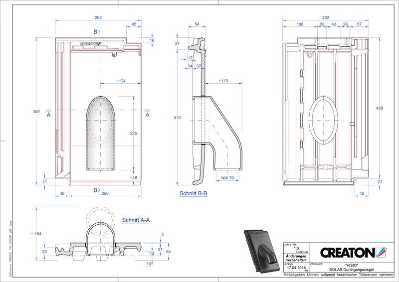 Product CAD file VISIO Solar SOLAR