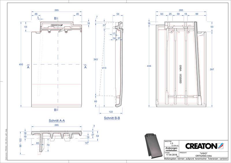 Product CAD file VISIO verge left OGL