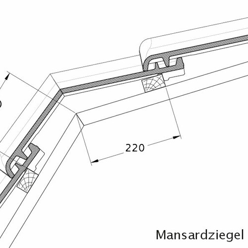 Product technical drawing MAGNUM MAZ