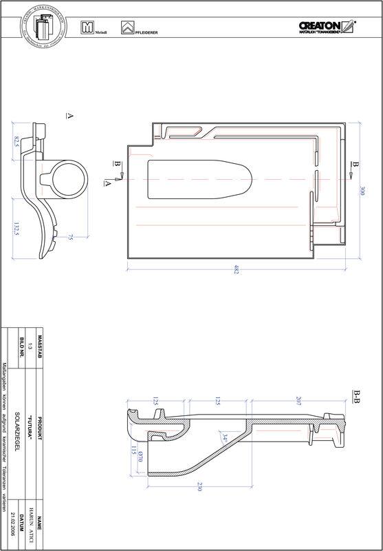 Product CAD file FUTURA Solar set SOLAR