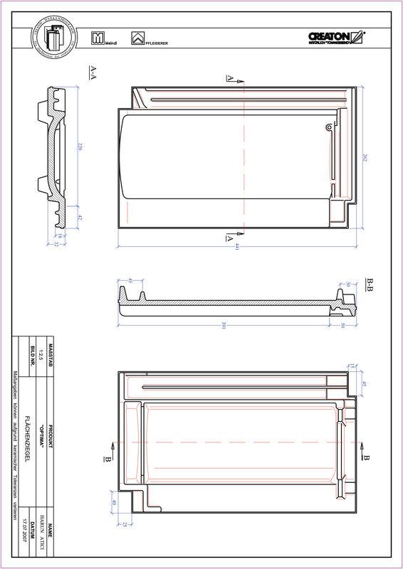 Product CAD file TERRA OPTIMA pan FLA