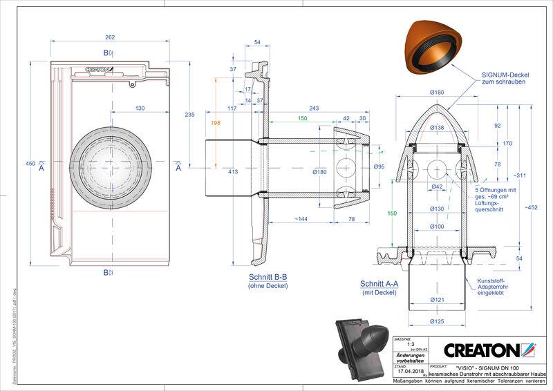 Product CAD file VISIO Signum SIGNUM-100