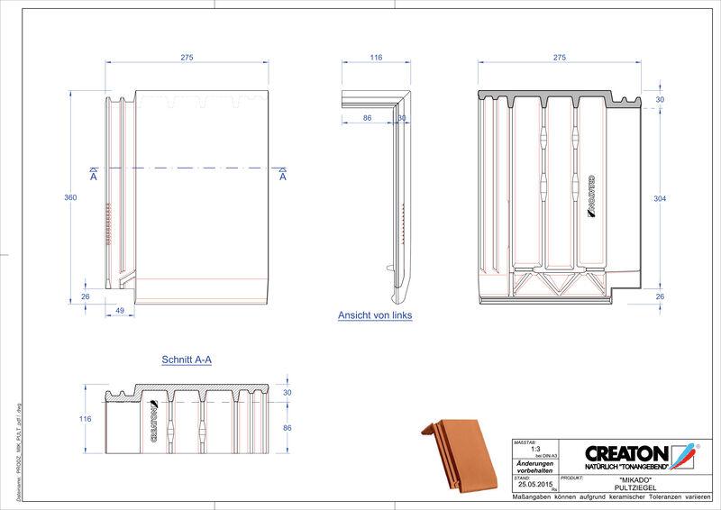 Product CAD file MIKADO shedpan PULT
